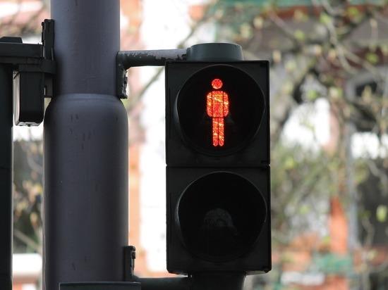 У сквера «Липки» во Владимире установили светофор