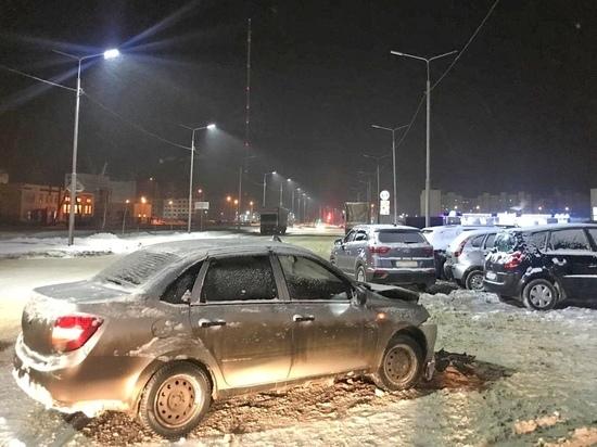В Тамбове произошло тройное ДТП: есть пострадавшие
