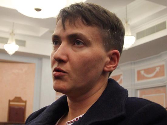 """Савченко потребовала выгнать из властей Украины всех """"подлецов и придурков"""""""