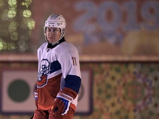 Лукашенко отказался играть с Путиным в хоккей