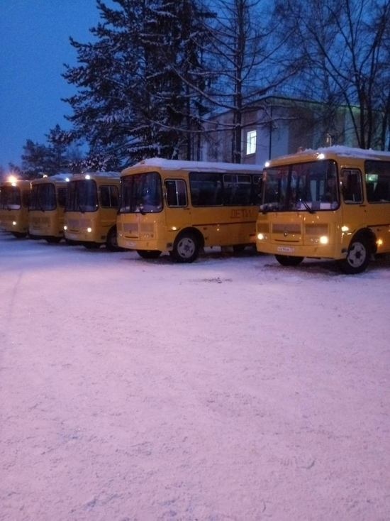 Ульяновские районы получили новые автобусы и машины скорой помощи