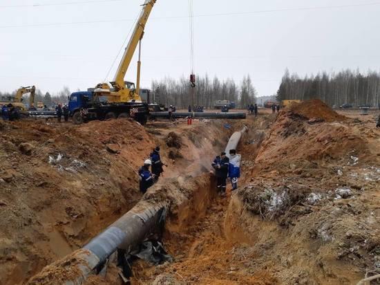 Восстановить аварийный газопровод в Подмосковье обещают до 6:00