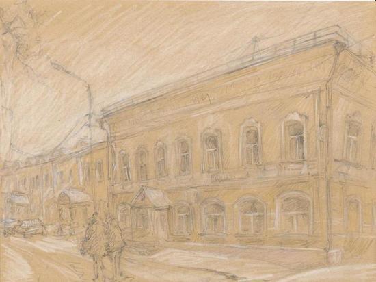 Где в Серпухове располагалось дворянское собрание?