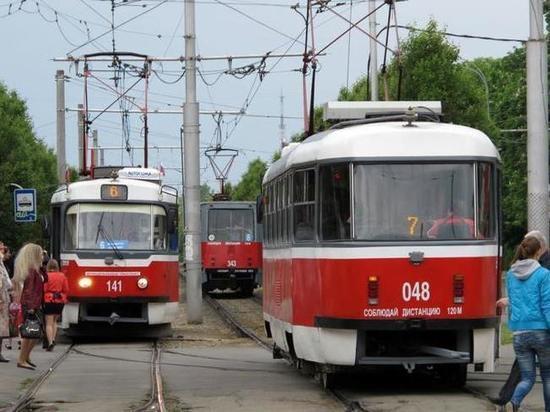 На новогодних каникулах количество трамваев в Краснодаре будет уменьшено