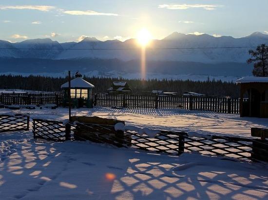 На новогодних каникулах на Алтае можно отдохнуть с хорошими скидками