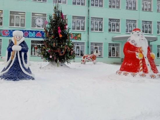 Выбрана самая новогодняя школа Кирова