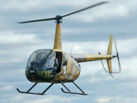 Четыре человека погибли при крушении вертолета в Улан-Удэ