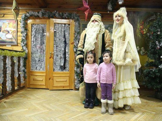 Кыш Бабай из своей резиденции поздравил жителей Татарстана