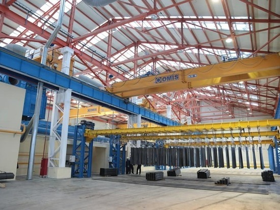 Ульяновский завод «Металлоконструкция»  открыл второй цех цинкования