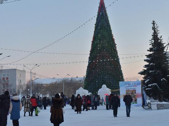 «Зажечь» смогут жители Барнаула в Новогоднюю ночь
