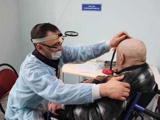 Врачи главной больницы Калмыкии провели в стардоме акцию