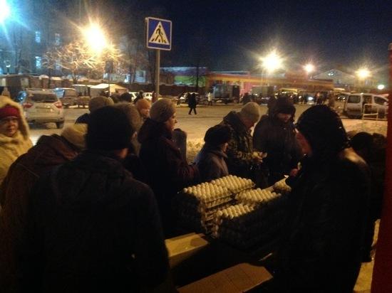 Более 10 тысяч ульяновцев закупились на последней губернаторской ярмарке