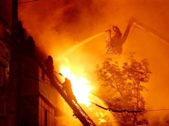 Пожар в Димитровграде - горел комитет по делам молодежи