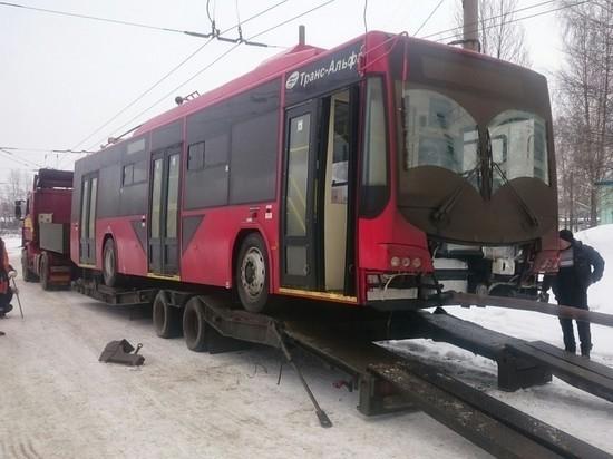 В Ярославль прибывают новые троллейбусы