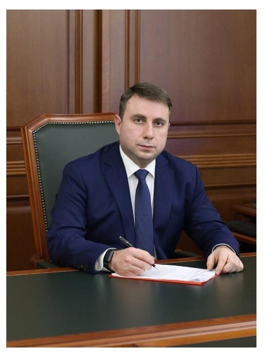 С наступающими праздниками поздравляет Глава Серпухова Дмитрий Жариков