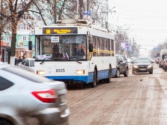 С 1 января в Саранске станет дороже ездить в троллейбусе