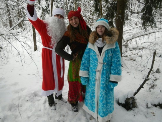 Ивановские поисковики встретят Новый год в лесу