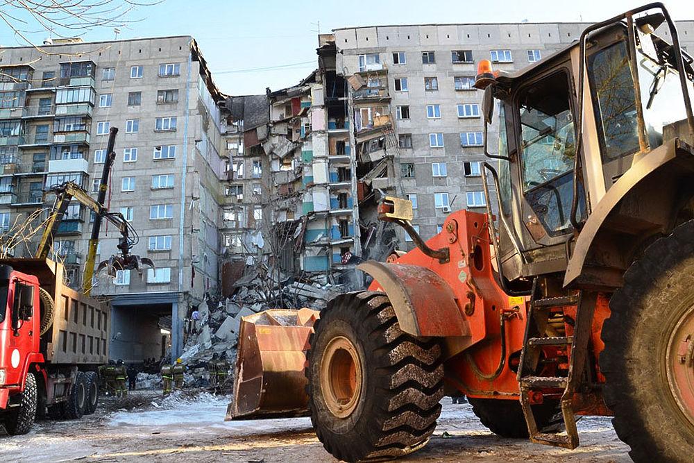 В Магнитогорске ликвидируют последствия взрыва газа в многоэтажке
