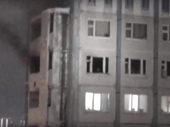Огнеборцы потушили пожар в сургутской квартире