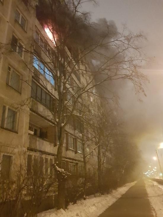 В первый день 2019 года тушили пожар на улице Есенина