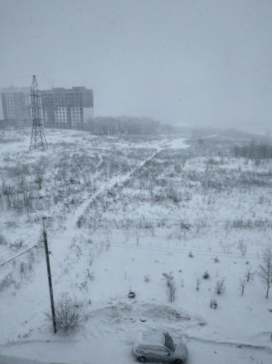 Завтра в Смоленской области будет около нуля, верено