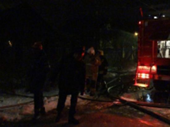 В Тверской области в бочке заживо сгорел мужчина