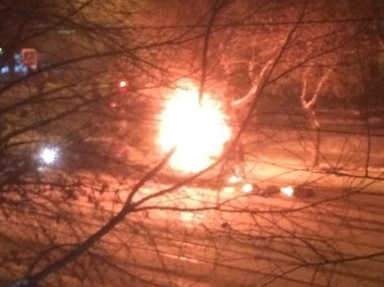 4106ac9295f0 МВД  «Газель» в Магнитогорске загорелась из-за неисправного газового  оборудования
