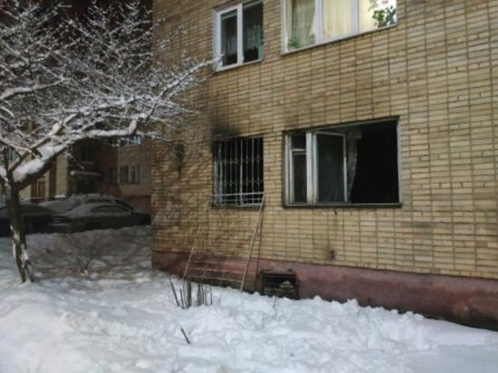 В Смоленске на Юрьева горела квартира