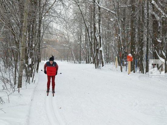 На Лебяжьем в Казани открывается новая лыжная трасса