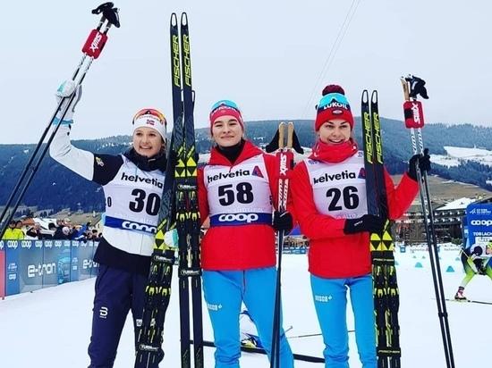 Мордовская лыжница завоевала