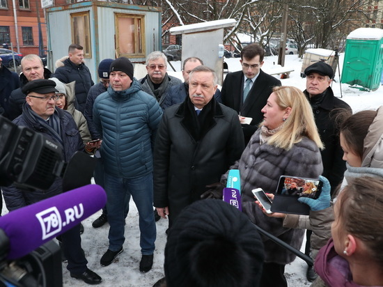 Беглов поручил доработать проект набережной Карповки