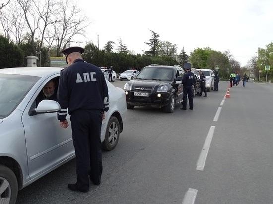 В Севастополе остановлен «фальшивый» водитель