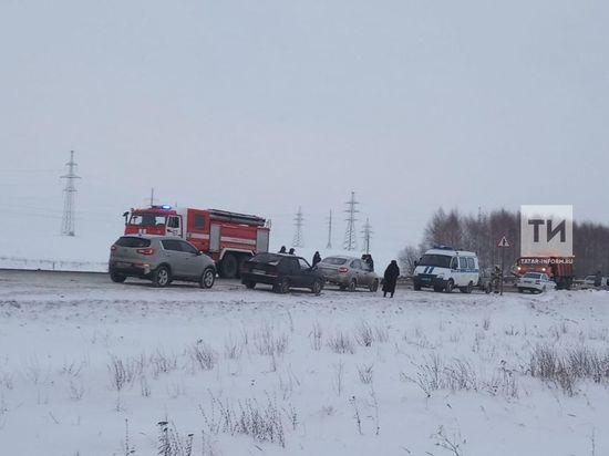 В Татарстане на трассе Москва-Оренбург произошло смертельное ДТП