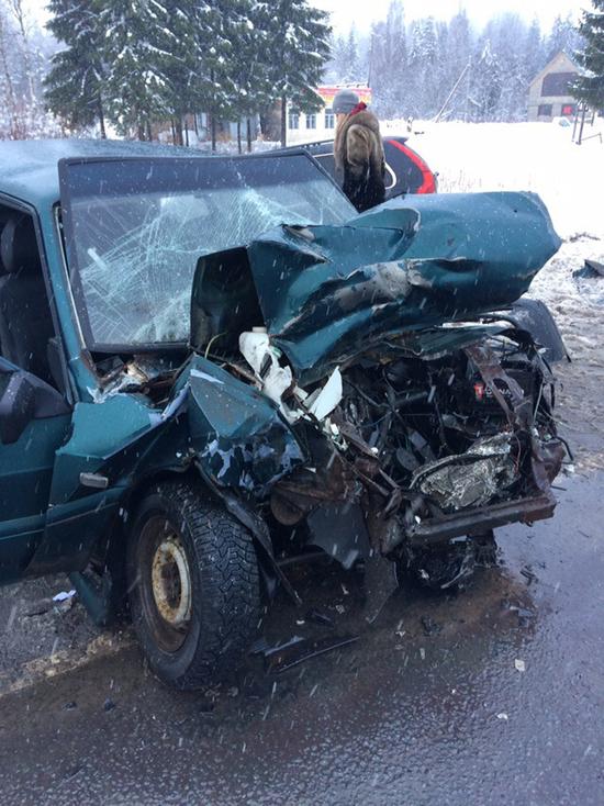 Уснувшая за рулем девушка устроила в Ленобласти ДТП с тремя авто