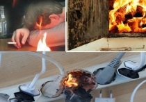 Пьяное курение и перегруз проводки – основные причины захлестнувших регион пожаров