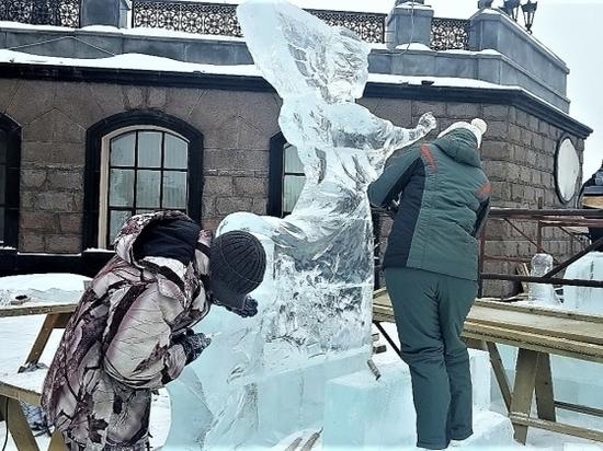 19 команд скульпторов борются за победу на фестивале «Вифлеемская звезда»