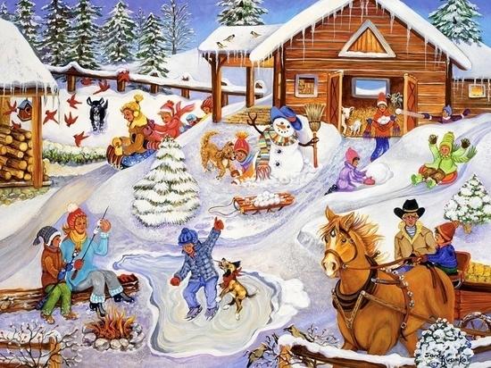 Ивановцев приглашают на зимние забавы: мероприятия 3 января