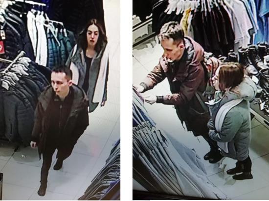 Чебоксарская полиция ищет парня и девушку, оплативших покупки чужой картой
