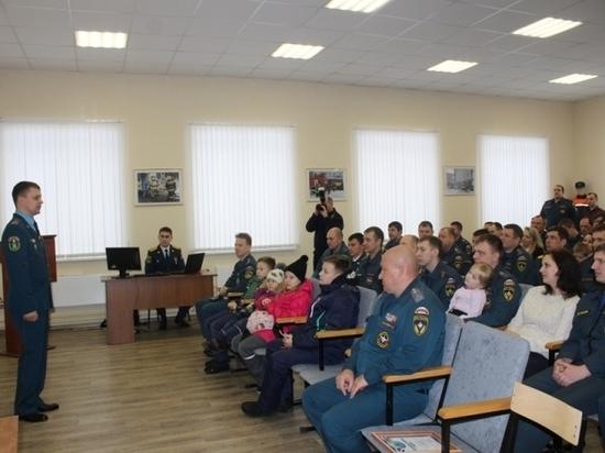 Ивановская пожарная часть отметила день рождения