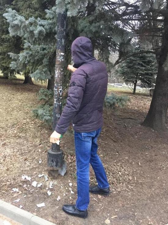 Железноводск очистили от новогоднего мусора