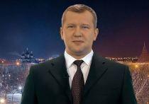 Сергей Морозов записал новогоднее обращение на фоне чужой фотографии