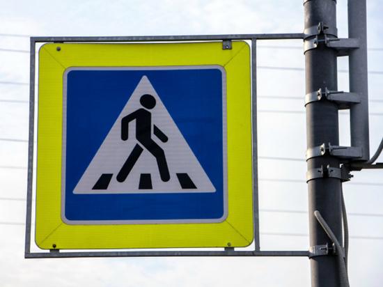 Двое молодых калужан пытались украсть с трассы дорожный знак