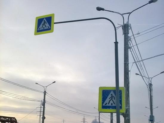 Ряд чебоксарских улиц обзавелся новыми дорожными знаками
