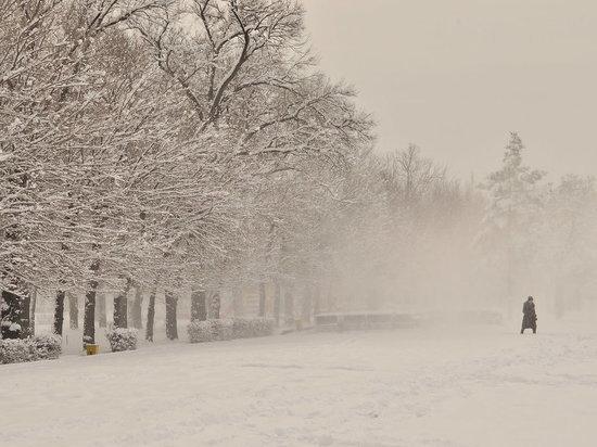 Ульяновск засыпает снегом