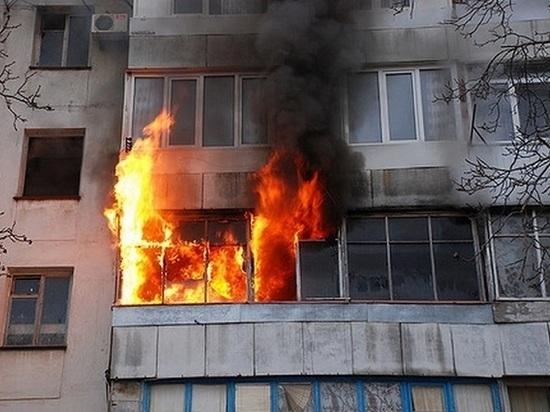 В Мичуринске при пожаре в многоэтажке погиб мужчина