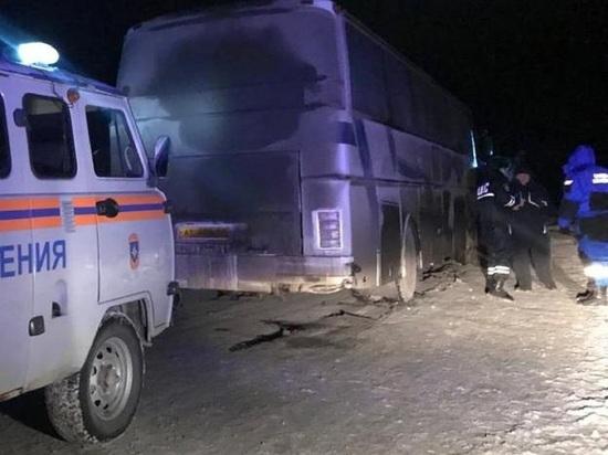 Полиция защитила от мороза пассажиров автобуса «Челябинск - Пермь»