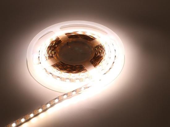 В Бурятии на трассе поставили светодиодные светильники