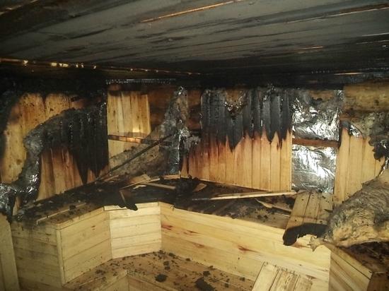 Две бани сгорели за сутки в Тамбовской области