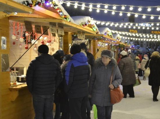 «Новогодний городок» в Иванове продолжает свою работу