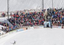 В Прикамье стартовал турнир для самых маленьких летающих лыжников